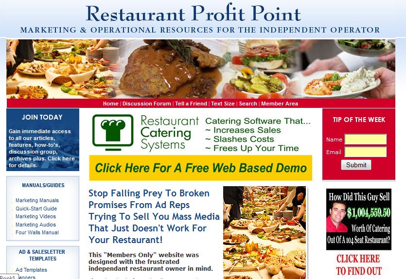 catering software RPP