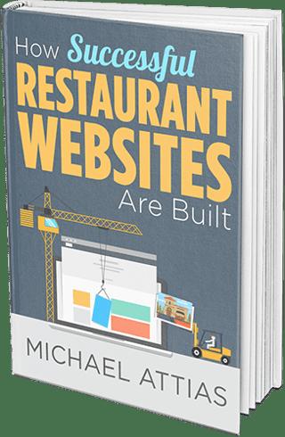 restaurant website design ebook