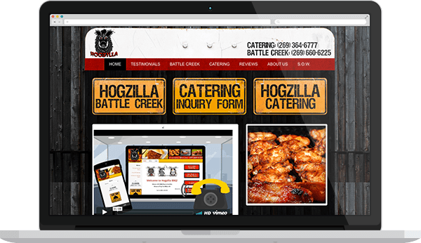 catering lead generation website