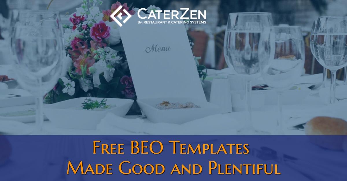 free-beo-templates